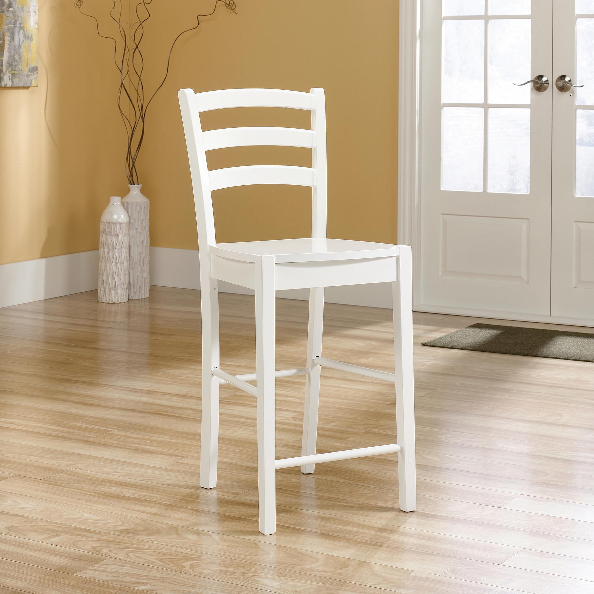 Sauder Woodworking Original Cottage Counter Height Ladder Back Dining Chair    Walmart.com