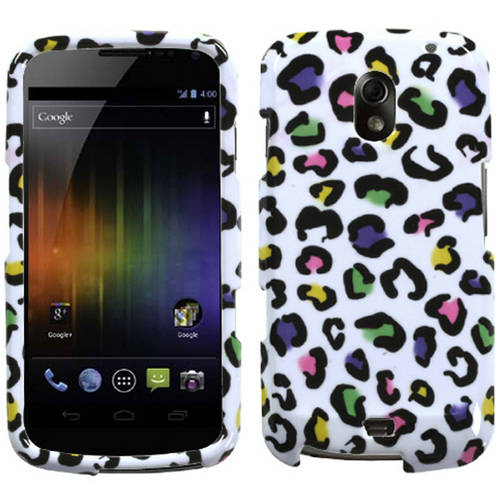 Samsung I515 Galaxy Nexus MyBat Protector Case, Colorful Leopard