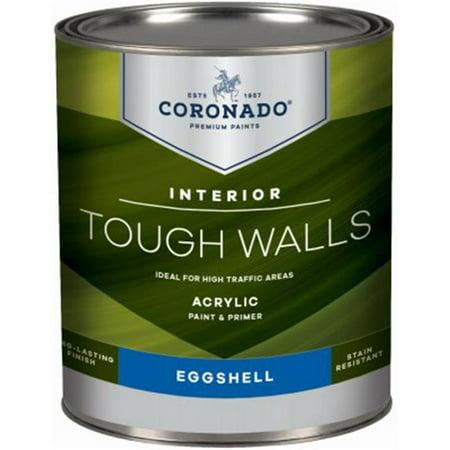 - Benjamin Moore & Co-Coronado 236078 Coronado Tough Walls QT Pastel Base Eggshell Finish Acrylic Latex Interior Paint & Primer