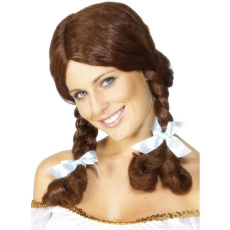 Country Girl Brown Wig