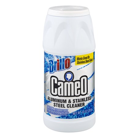 Brillo Cameo Aluminum & Stainless Steel Cleaner, 10