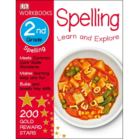 DK Workbooks: Spelling, Second Grade : Learn and Explore (Second Grade Halloween Crafts)