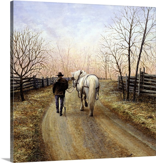 Great BIG Canvas | Kevin Dodds Premium Thick-Wrap Canvas entitled End of Day