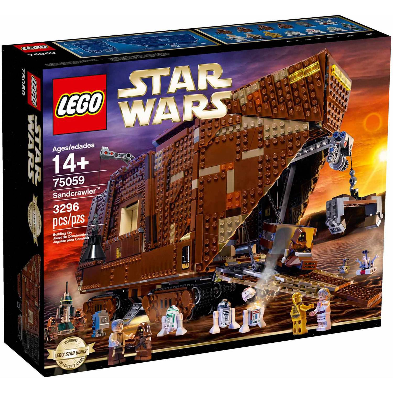 LEGO Star Wars Sandcrawler Play Set
