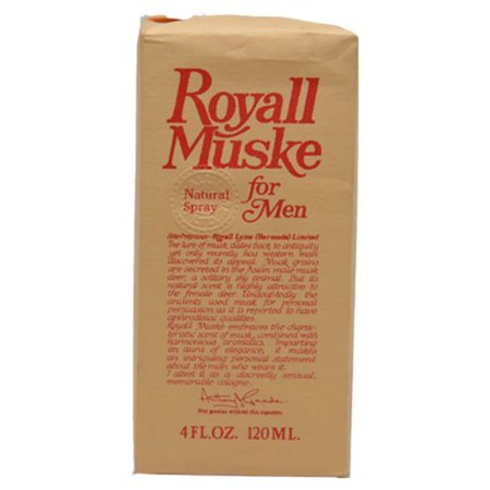 Royall Muske By Royall Fragrances For Men. Aftershave Lotion Cologne Spray 4 (Royall Fragrances Spray)