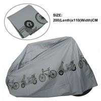 Greensen 2x1.1M Bicycle Bike Motorcycle Cover Outdoor Rain Dustproof Protector Waterproof Anti-UV