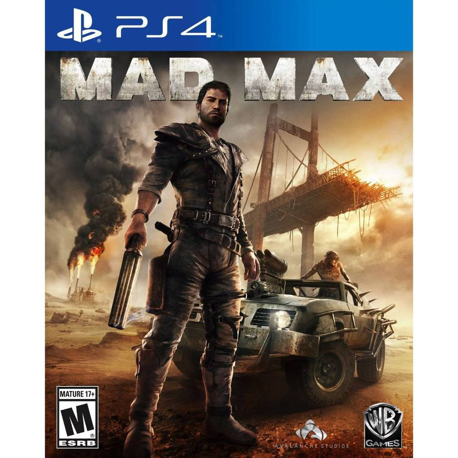 Mad Max for PlayStation 4 by Warner Brothers