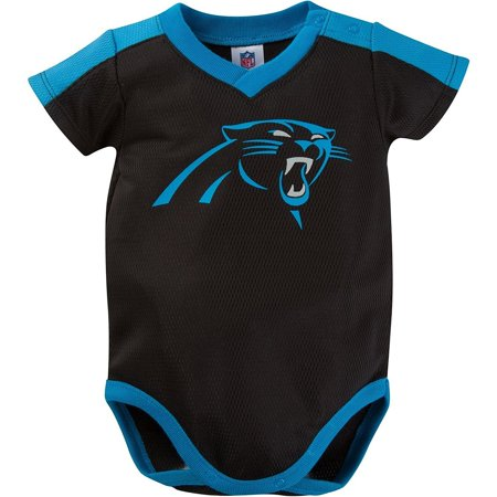 NFL Carolina Panthers Dazzle Jersey Mesh Bodysuit