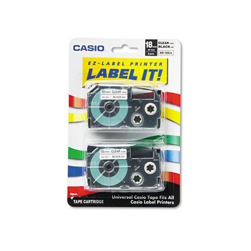 Casio Label Tape CSOXR18X2S