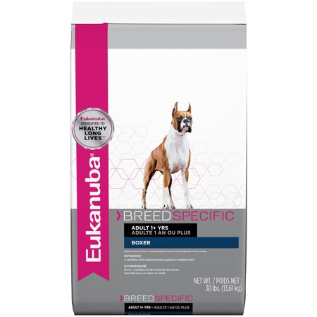 Eukanuba Breed Specific Boxer Nutrition Dry Dog Food, 30 Lb