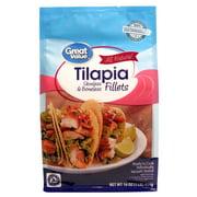 Great Value Tilapia Fillets 1lb - All Natural