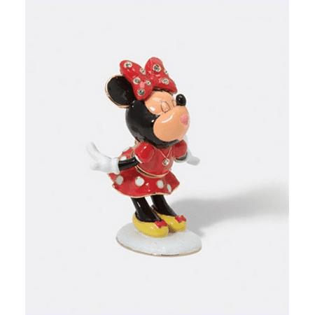 Department 56 Minnie Mouse Jeweled Trinket Box
