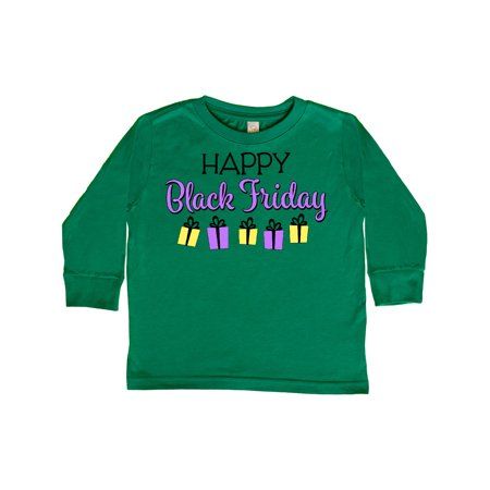 Happy Black Friday Gift Shopping Toddler Long Sleeve T-Shirt