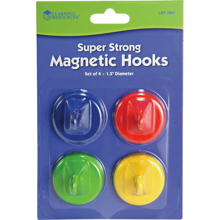 Learning Resources Super Strong Magnetic Hooks Set