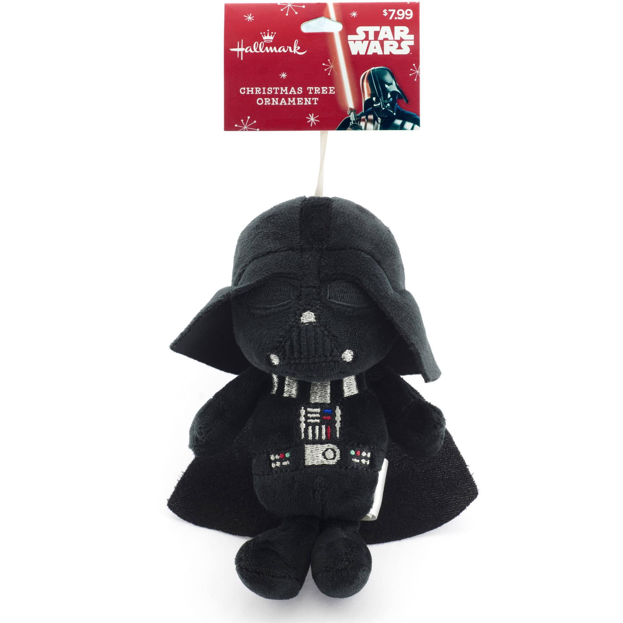 Hallmark Star Wars Darth Vader Plush Ornament - Walmart.com