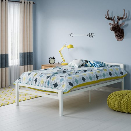 Mainstays Premium Metal Twin Bed, Multiple Colors ()
