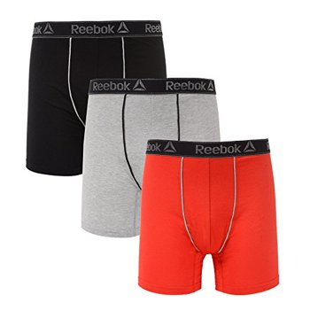 6-Pack Men's Reebok Stretch Boxer Briefs