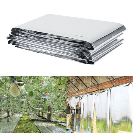 Yosoo 1Pc 210 x 120cm Silver Plant Reflective Film Garden Greenhouse Grow Light Accessories New,Reflective Film, Plant Reflective Film - image 9 of 9
