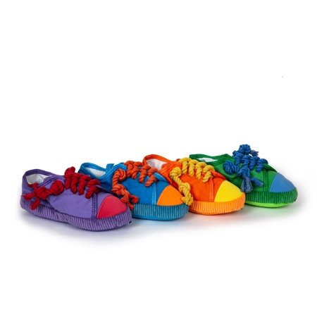 Multipet Chew Shoe Dog Toy Assorted Colors (Toy May