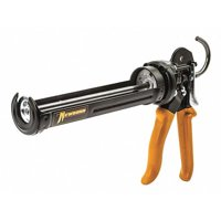 NEWBORN 373-XSP Caulk Gun, High Thrust,Black, Orng,10oz.