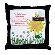 """CafePress - You Are My Sunshine Granddaughter - Decor Throw Pillow (18""""x18"""")"""