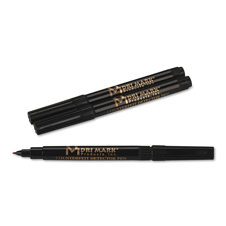 Dri Mark, DRI3513B, Counterfeit Detector Pens, 3 / Pack, Black