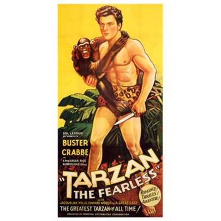 Tarzan The Fearless C1933 Movie Poster  11 X 17
