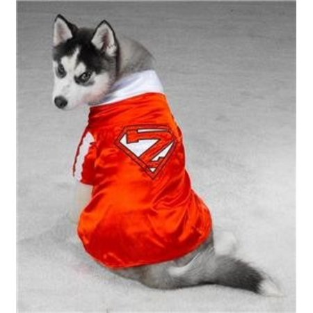 Pet Costume Mighty Mutt Super-Hero Medium, Size Medium - for dogs with a back measuring 12 - 16 inches (from base of neck to base of tail) By Casaul Canine - To And From Tags For Halloween