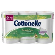 Cottonelle Toilet Paper Gentle Care with Aloe & E Double Rolls - 6 CT
