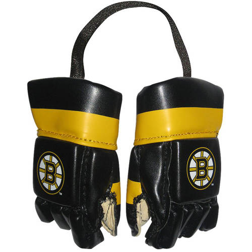 NHL Boston Bruins Mini Hockey Gloves