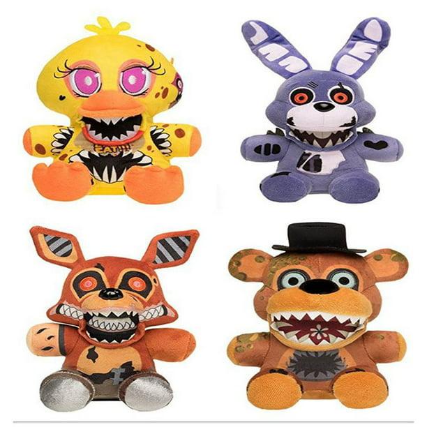 Koala Stuffed Animals Mini, 4 Set Twisted Ones Plushies Bundle Five Nights At Freddy S Collection Toy Stuffed Animal Plush Walmart Com Walmart Com