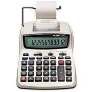 Victor 1208-2 Two-Color Compact Printing Calculator, Black/Red Print, 2.3 Lines Per Second