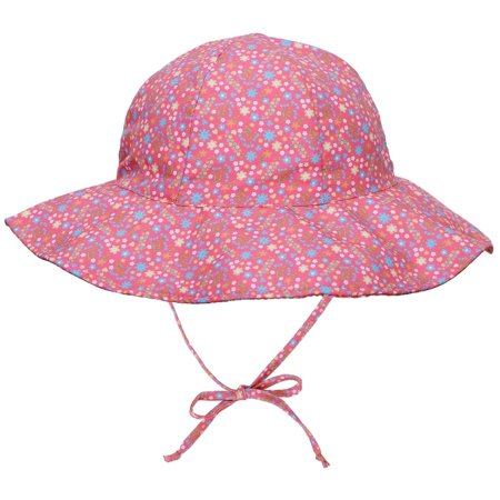56f357999b37a Overstock - UPF 50 Sun Protection Wide Brim Baby Sun Hat - Walmart.com