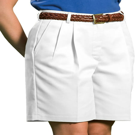 - Edwards Garment Women's Classic Fit Pleated Short, Style 8419