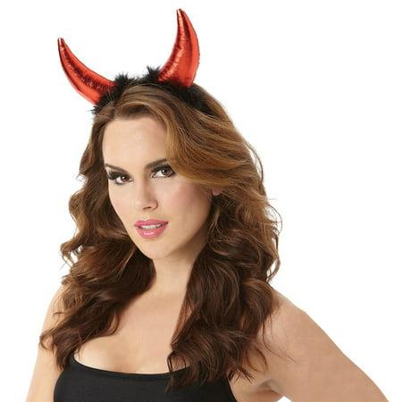 Devil Horn Headband Adult Costume Accessory