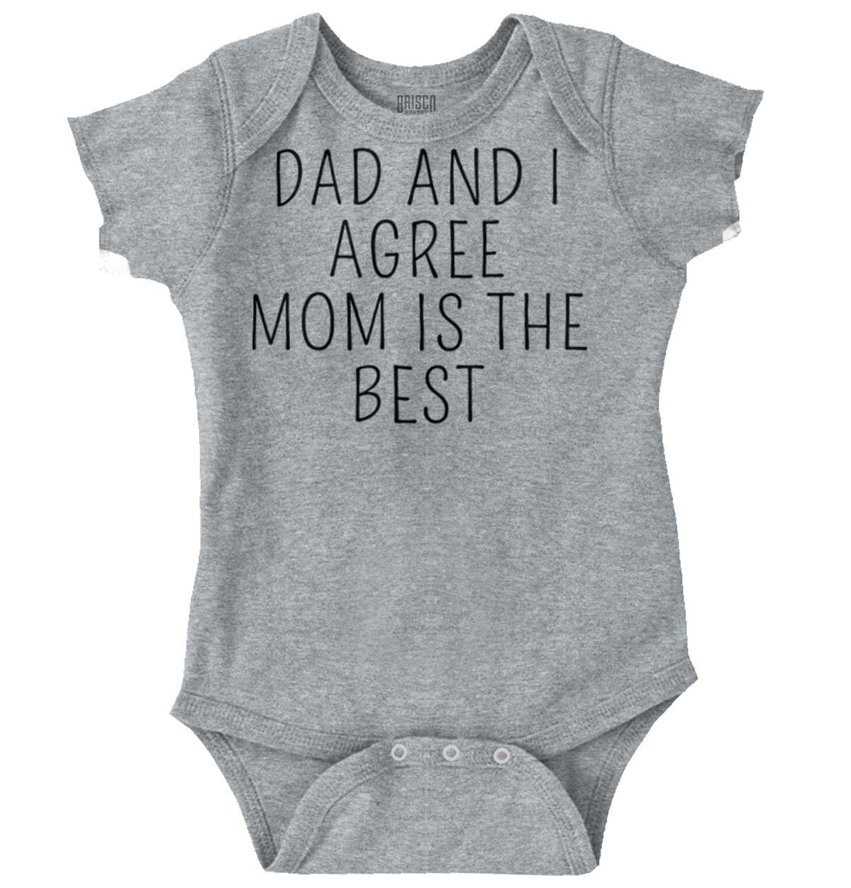 Brisco Brands Proof Daddy Video Games All The Time Funny Romper Bodysuit