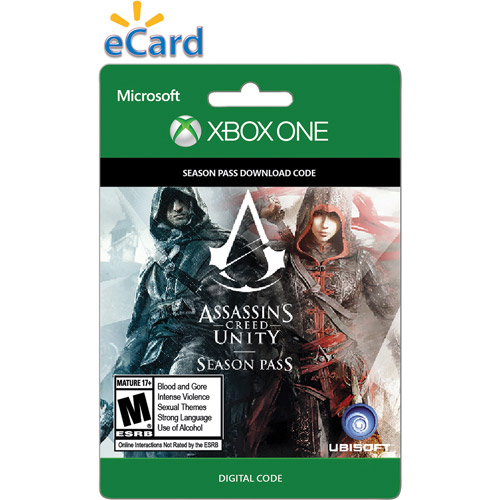 Xbox One Assassins Creed Unity Seasons Pass 2014 $29.99 (Email Delivery)
