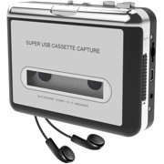 DigitNow Cassette Tape To MP3 CD Converter Via USB,Portable USB Cassette Tape Player Capture MP3 Audio Music,Compatible With Laptop and Personal Computer,Convert Walkman Tape Cassette To MP3 Format