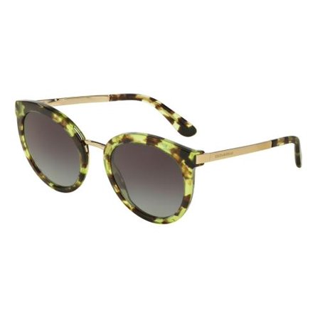 DOLCE & GABBANA Sunglasses DG 4268 29708G Cube Havana Green (Cebe Sun Glasses)