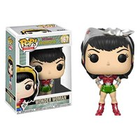 Pop Heroes: Holiday Wonder Woman Collectible Figure, Multicolor