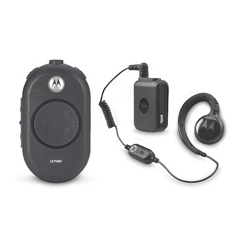 Motorola CLP1060 on-site two-way radio w/ Long Battery Life