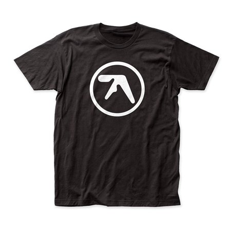 Aphex Twin Men's Logo Slim-Fit T-Shirt Black ()