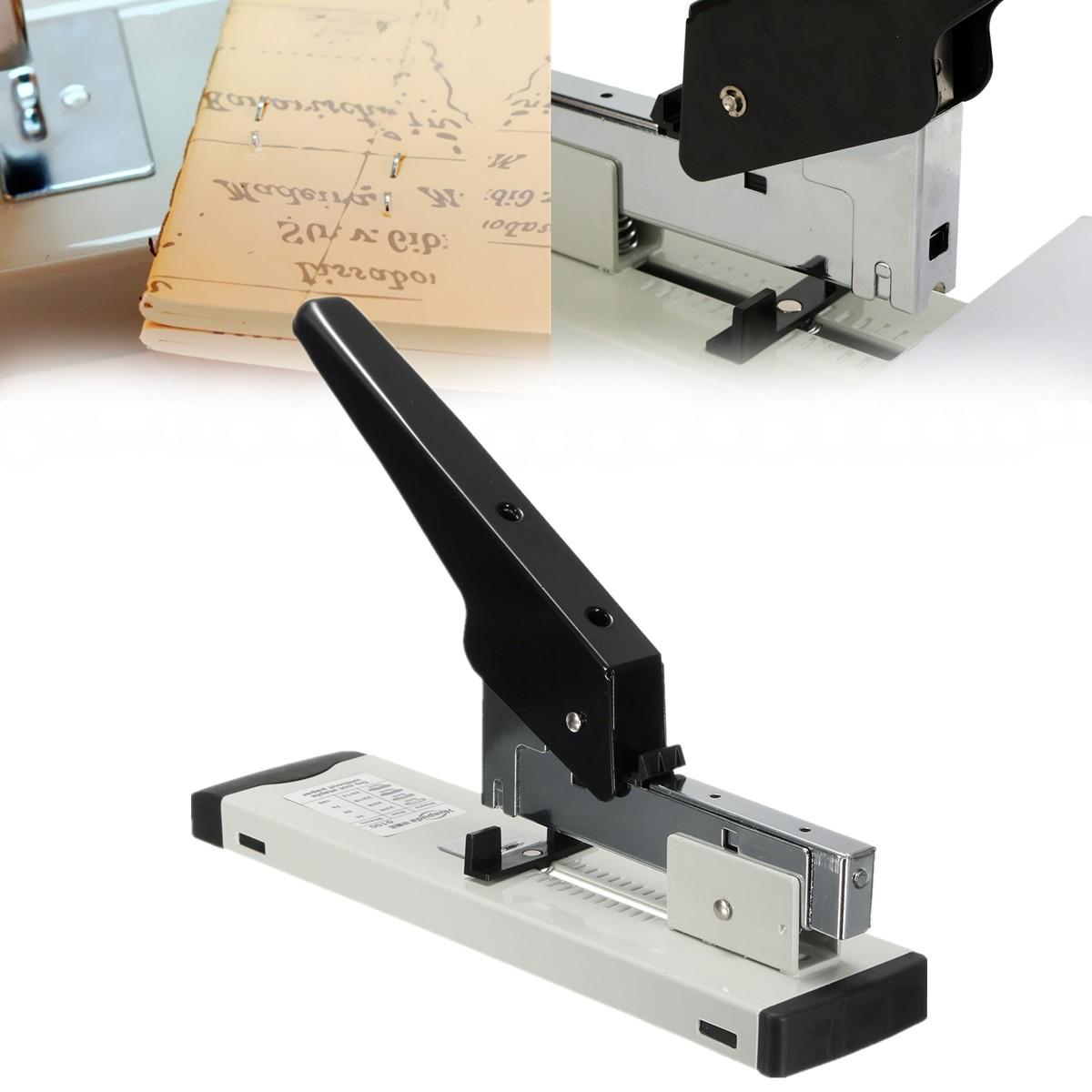 Heavy Duty Stapler 120 Sheet Capacity Paper Document Bookbinding Machine