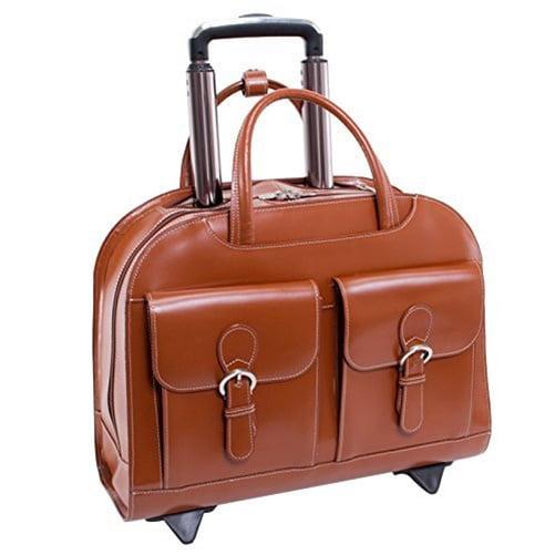 McKlein USA Davis 96184A 15.6-in. Leather Ladies Laptop Case by McKleinUSA