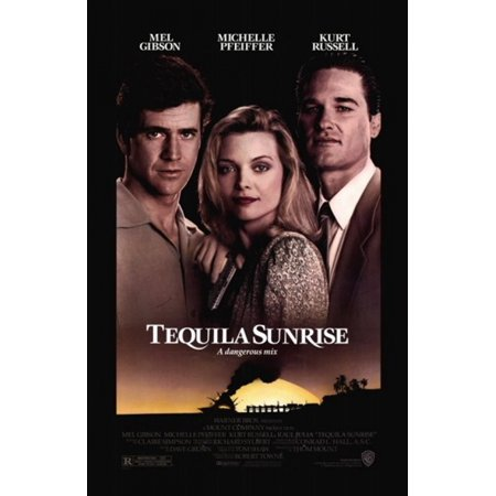 Tequila Pop N Dude (Tequila Sunrise Movie Poster (11 x)