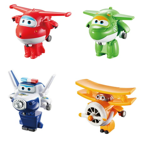 Super Wings Mini Transform-A-Bot, 4 Pack A