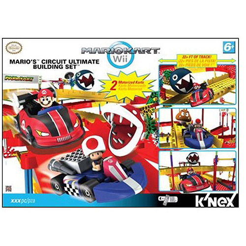 K'NEX Super Mario Mario Kart Wii Mario Circuit Ultimate Set #38501