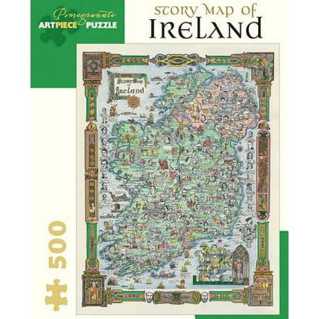 Story Map of Ireland : 500 Piece Jigsaw (500 Piece Map)