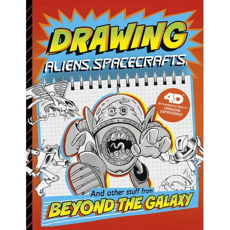 Drawing Aliens, Spacecraft, and Other Stuff Beyond the Galaxy: 4D an Augmented Reading Drawing Experience
