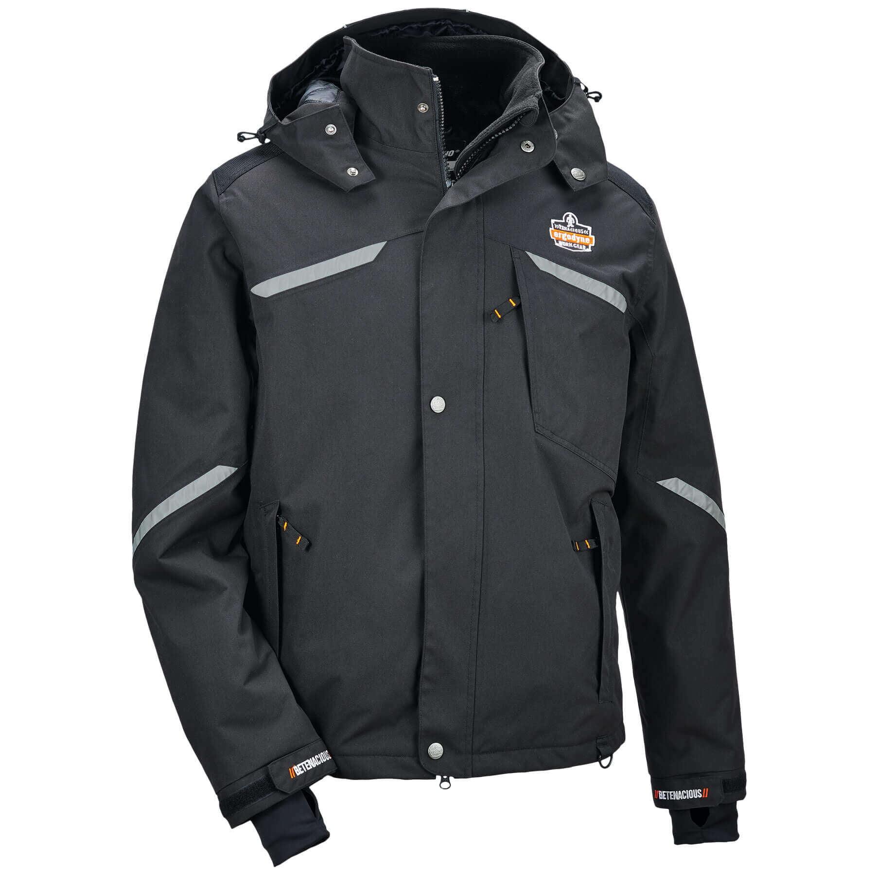 Ergodyne N-Ferno® 6466 Thermal Jacket, Black, L